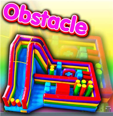 catégorie - parcours d'obstacles gonflable