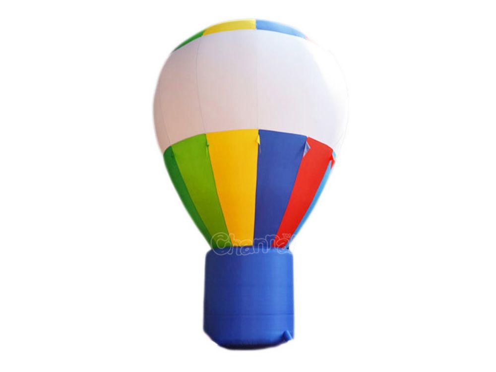 ballon montgolfiere géant gonflable