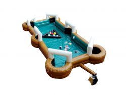 table de snookball gonflable a vendre