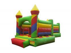 chateau gonflable coloré