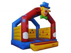 chateau gonflable clown drôle pour les enfants