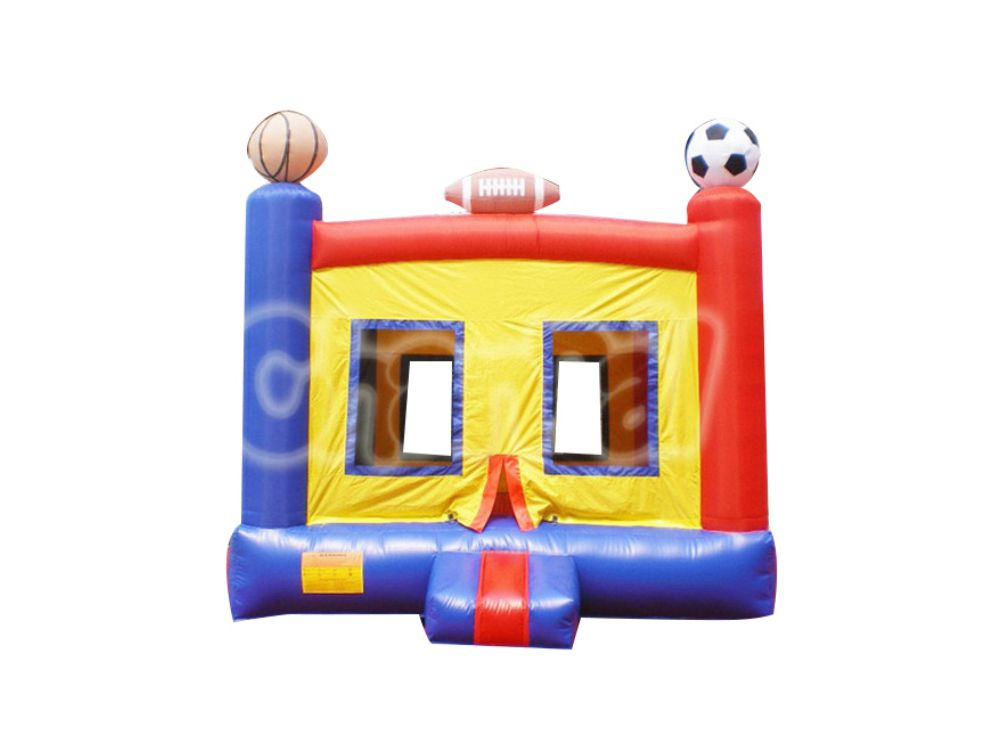 chateau gonflable thème sportif