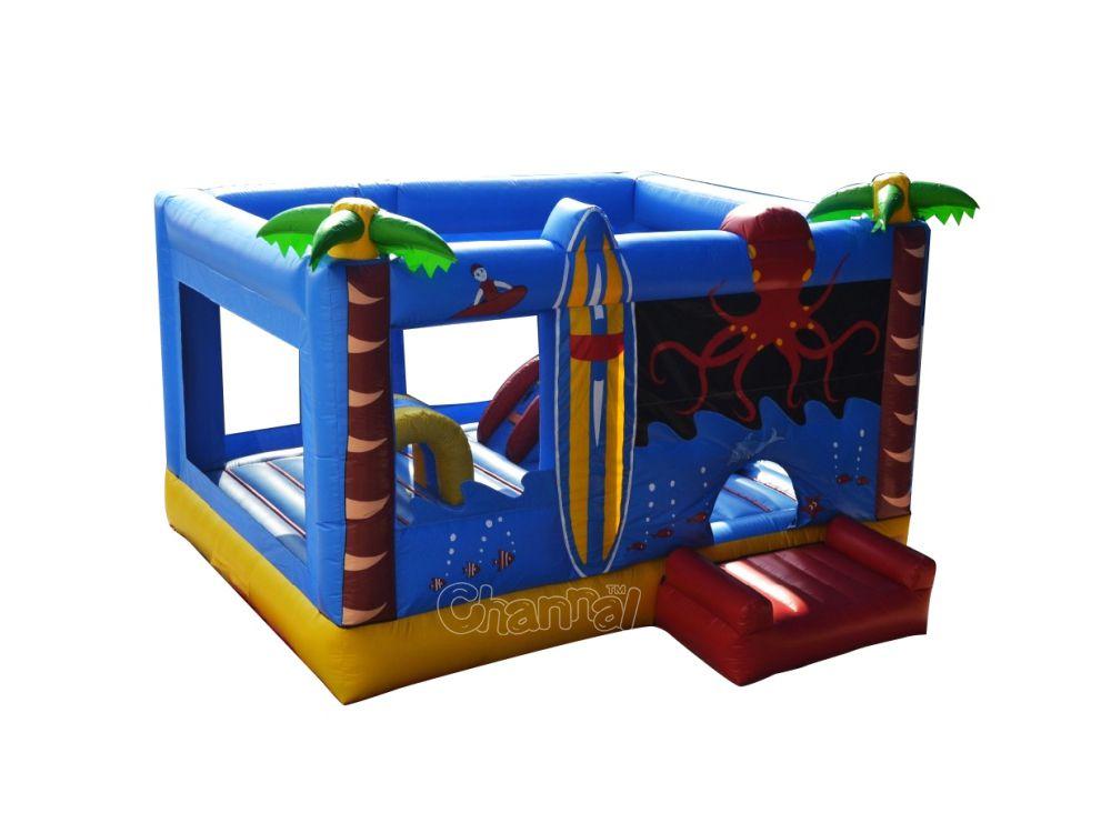 châteaux gonflable poulpe