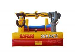 château gonflable thème safari