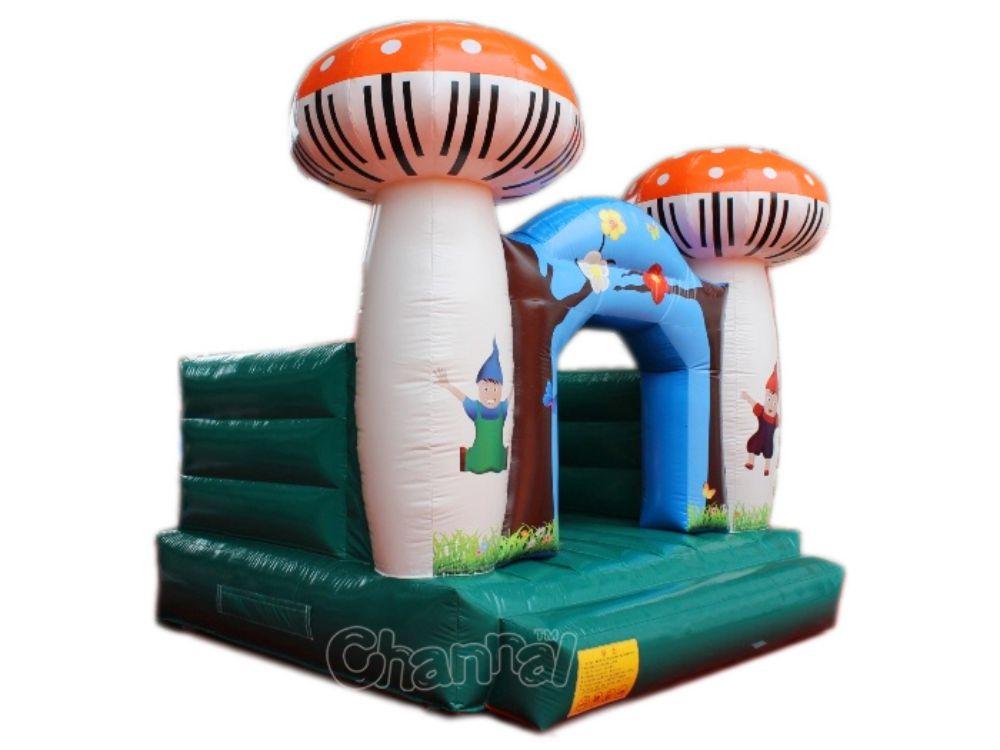 Chapeau gonflable à thème de champignons