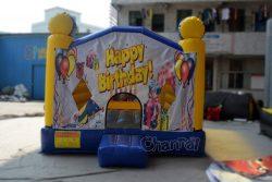 chateau gonflable pour bon anniversaire
