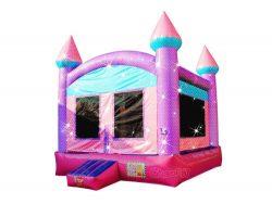 château gonflable princesse étincelante