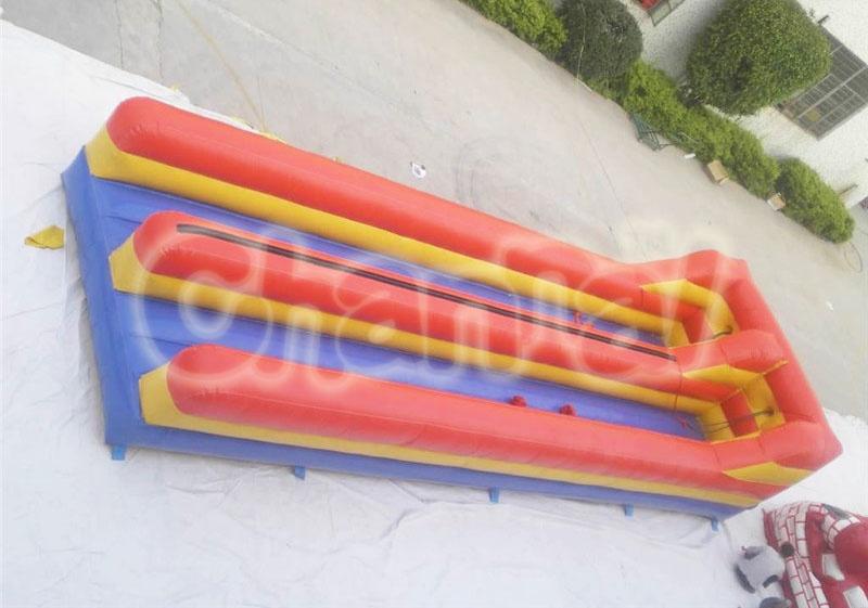 jeu de duel à l'élastique gonflable