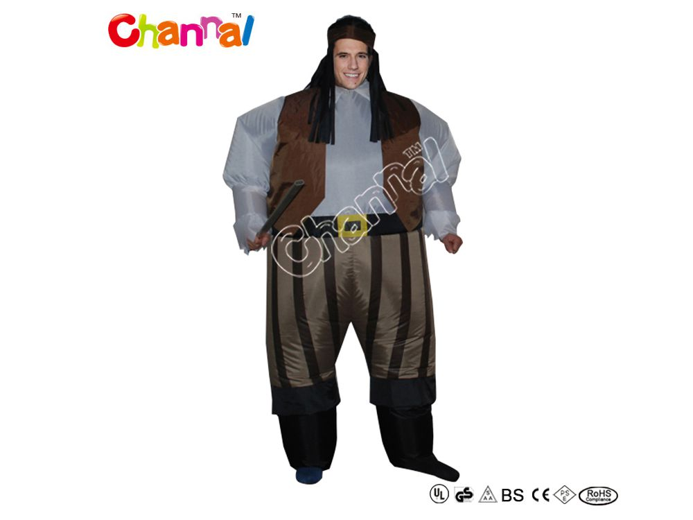 costume gonflable pirate pas cher a vendre