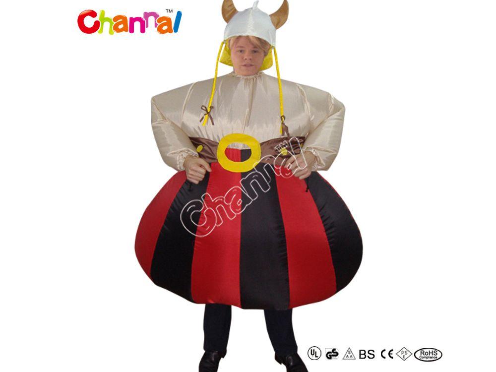 costume déguisement gaulois obelix gonflable pas cher a vendre