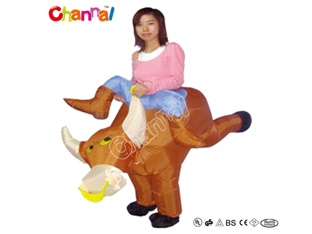 costume taureau gonflable pas cher a vendre