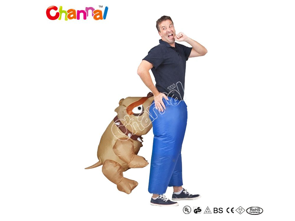 deguisement chien mordant gonflable pas cher a vendre