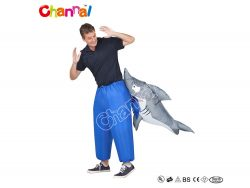 costume requin mordant gonflable pas cher a vendre