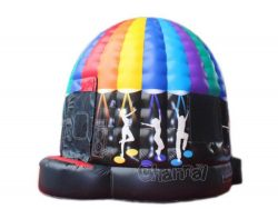 vente château gonflable disco dome