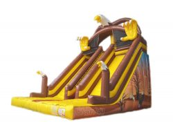 toboggan gonflable aigle