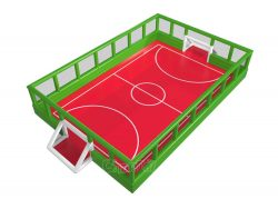 terrain de football gonflable grand pas cher