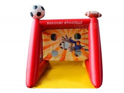 jeu gonflable tir de football enfant