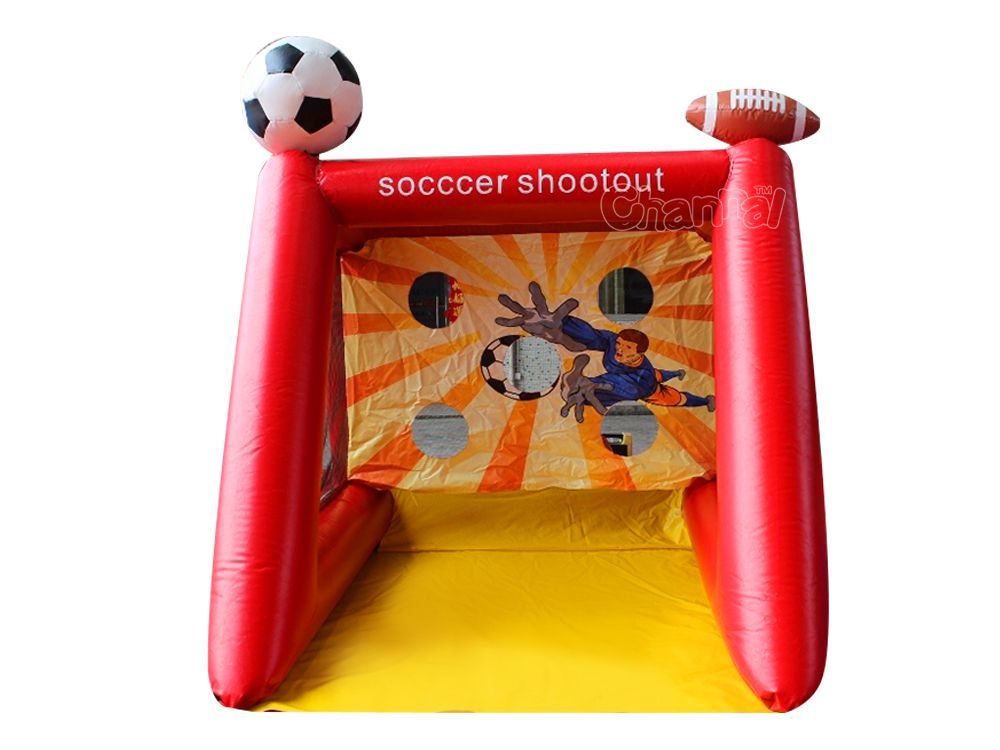 jeu gonflable tir de football enfant