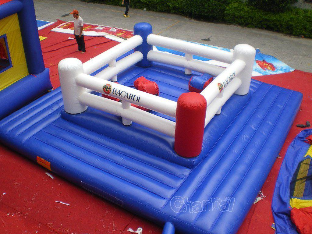 ring de boxe gonflable pour enfants