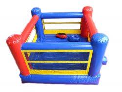 gonflable château ring de boxe
