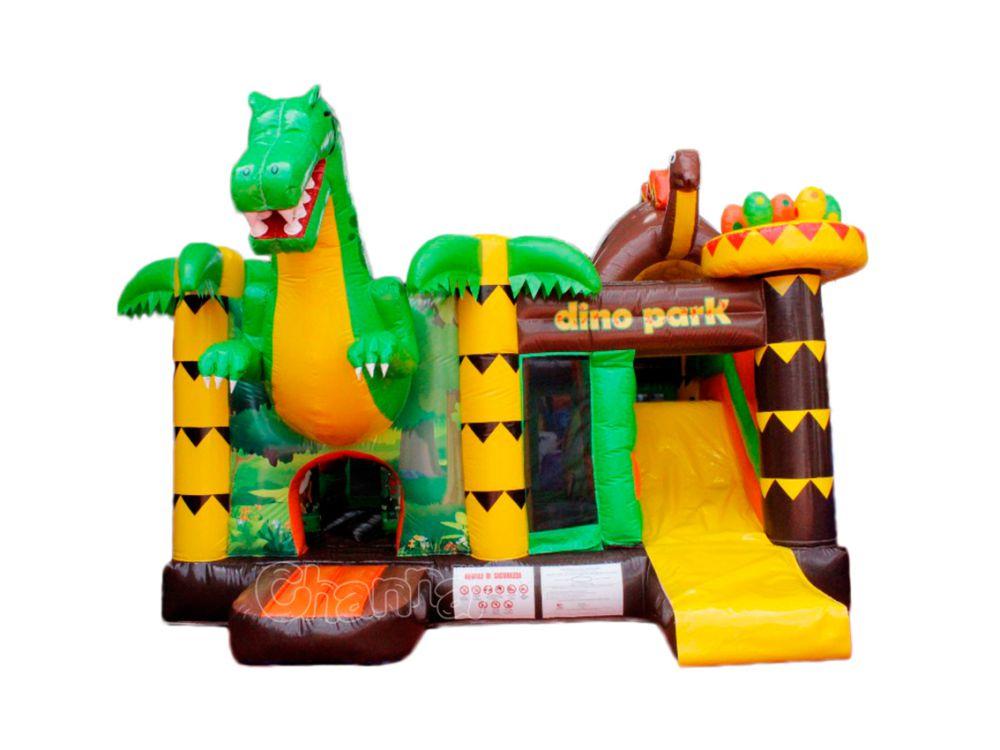 combo gonflable parc dinosaure pas cher