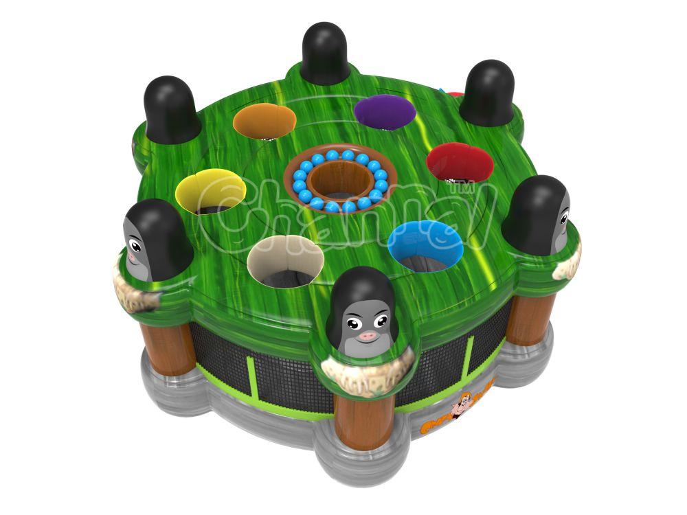 jeu de la taupe gonflable