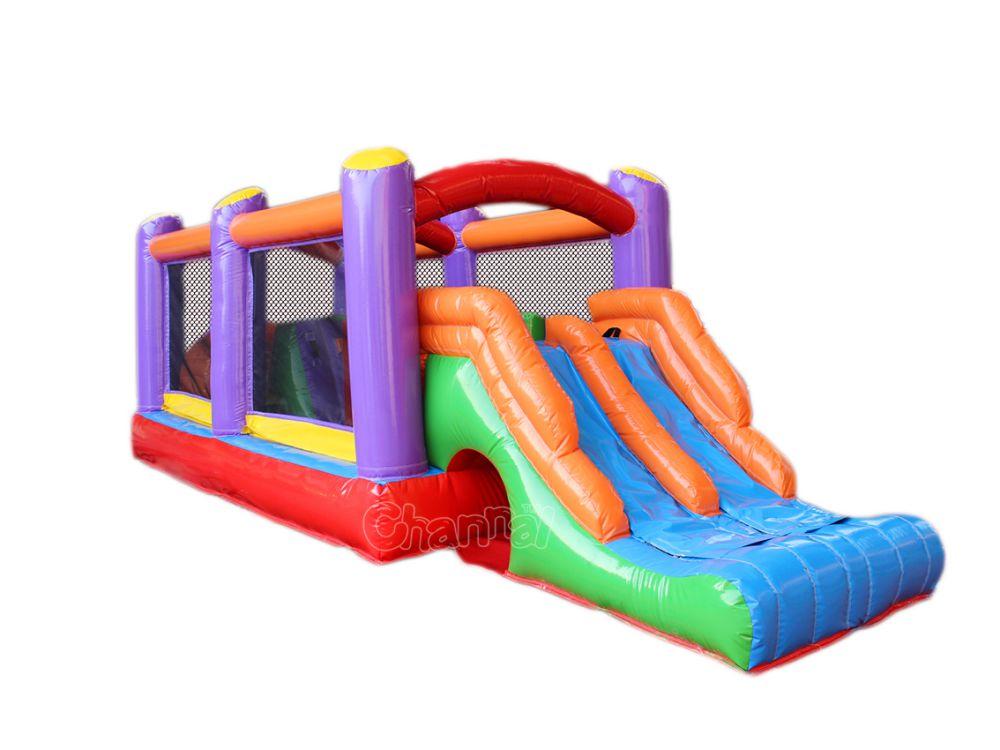 parcours d'obstacles gonflable pour petits enfants