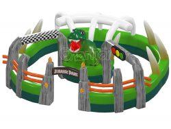 circuit gonflable parc jurassique a vendre