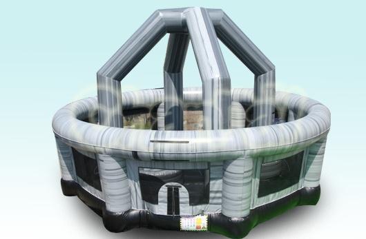 jeu gonflable boule de démolition