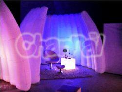 mur gonflable lumineux pour show