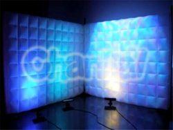 mur gonflable led meuble de séparation