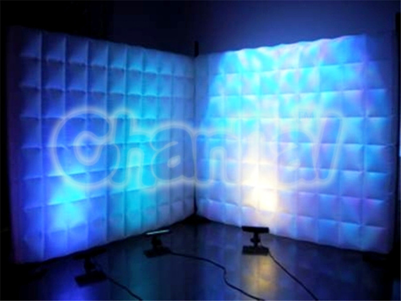 mur gonflable led lumineux channal inflatables. Black Bedroom Furniture Sets. Home Design Ideas