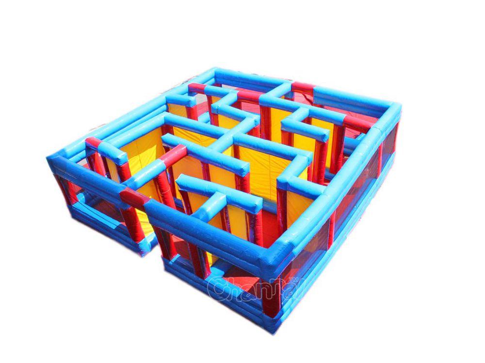 labyrinthe gonflable petit pour les enfants
