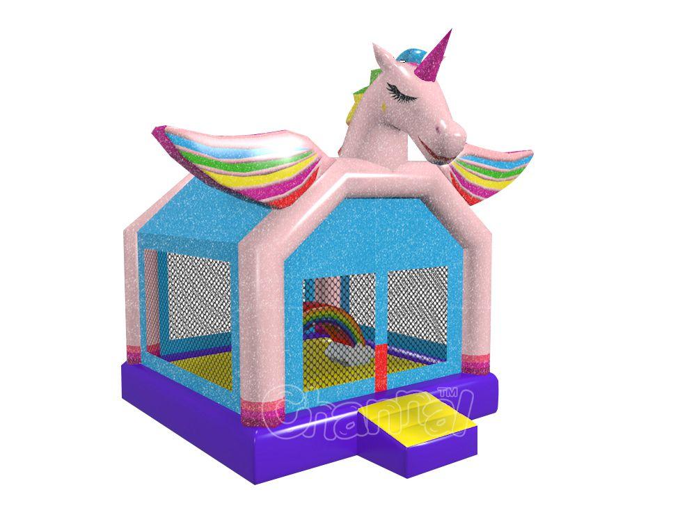 licorne arc-en-ciel château gonflable a vendre