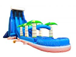 toboggan aquatique vague tropical a vendre