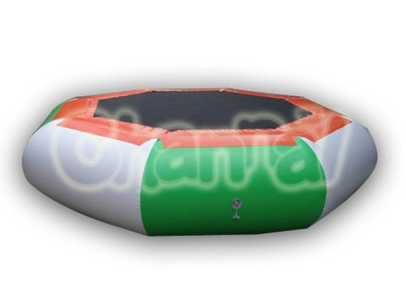 trampoline gonflable flottant octogone pas cher