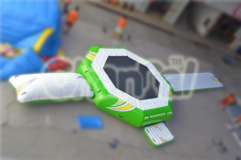 trampoline aquatique gonflable pour parc aqua